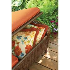 Extra Large Garden Furniture Covers - ottoman beautiful leather tufted ottoman with tray blue brown