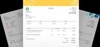 online invoice software cloud invoicing system zoho invoice
