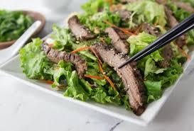 thai beef salad with peanut lime dressing analida u0027s ethnic spoon