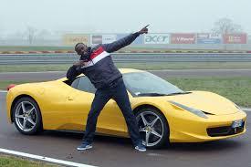 cars ferrari ferrari gives usain bolt the full tour rides magazine