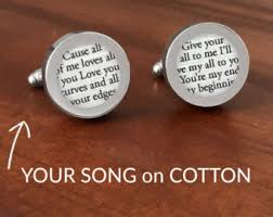 cotton anniversary gifts for him cotton anniversary gift etsy