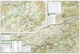 National Geographic Map Mount Rogers National Recreation Area Jefferson National Forest