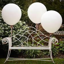 large white balloons 3 x 36 inch white balloons pipii
