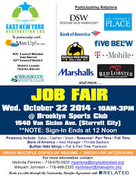Job Gateway Resume by Job Fair With Participating Gateway Center Mall Stores