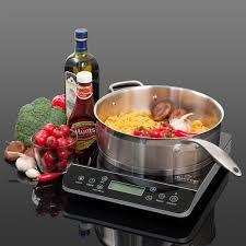 Magnetic Cooktop Duxtop Lcd 1800 Watt Portable Induction Cooktop Countertop Burner