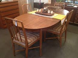 Drexel Dining Room Furniture Vintage Drexel Dining Table And 4 Matching Chairs In 1215 West