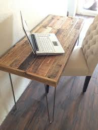 Reclaimed Wood Desk Furniture Best 25 Reclaimed Wood Desk Ideas On Pinterest Natural Desks