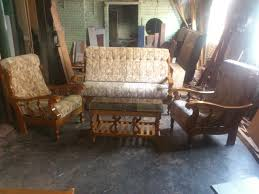 Teak Wooden Sofas Anand Furnitures