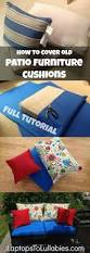 Patio Furniture Cushions Sale by Diy Cushions For Patio Furniture Super Easy I Didn U0027t Have Old
