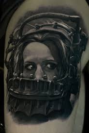 horror tattoos what does fear look like tattoo life
