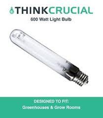600 watt grow light bulb replacement 600 watt hps grow ls bulb ebay