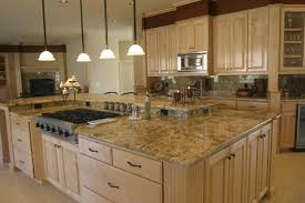 granite countertop colors for kitchens with oak cabinets