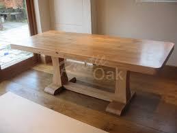 Rustic Oak Dining Table  SL Interior Design - Rustic oak kitchen table