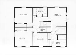 Colonial Floor Plans Modular Home Colonial Floor Plans Home Plan