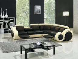 Sectional Sleeper Sofa With Recliners Leather Sectional Sleeper Sofa With Recliners Brown Leather