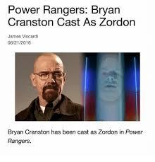 Bryan Cranston Memes - 25 best memes about zordon bryan cranston power rangers and