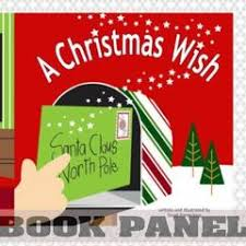 christmas wish book a christmas wish fabric book panel to sew quiltgirls