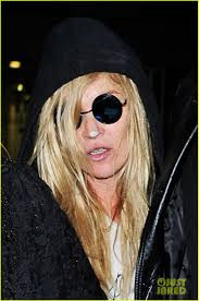 plastic surgery halloween mask kate moss dresses up as cara delevingne for halloween photo