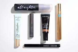 a few of the makeup options we used to test our removers