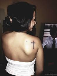 80 wonderful back shoulder tattoos for girls