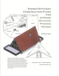 amazon com house plans for a frame octagon and pyramid houses