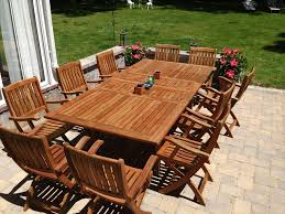 Make Wood Outdoor Table by Teak Wood Outdoor Furniture U2014 Home Designing