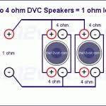 subwoofer wiring diagrams two 4 ohm dual voice coil dvc
