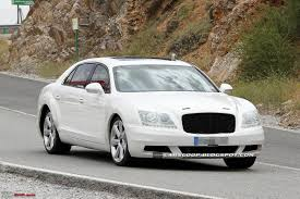 bentley flying spur modified bentley continental flying spur facelift revealed team bhp