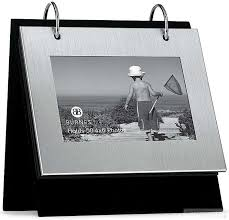 burnes of boston photo albums brushed silver flip its br tabletop album by burnes picture