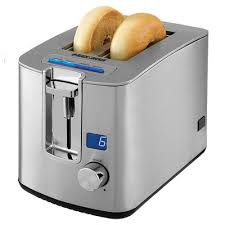 Stainless Toaster 2 Slice Black Decker 2 Slice Retractable Cord Led Display Toaster