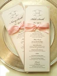 wedding reception program sle awesome wedding reception program wording photos styles ideas
