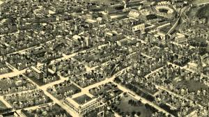 Birds Eye View Map Port Jervis New York 1920 Panoramic Bird U0027s Eye View Map 6356 Youtube