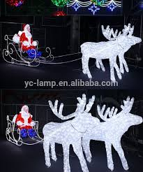 lighted reindeer outdoor white lighted reindeer for led christmas decorations