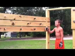isaac completing american ninja warrior training course 7 14 14