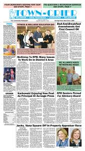 town crier newspaper august 26 2016 by wellington the magazine