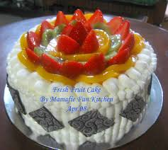 fresh fruit cake cakes ideas fresh fruit cake