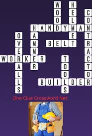Woodworking Tools Crossword Puzzle Clue by Handyman One Clue Crossword Cheats