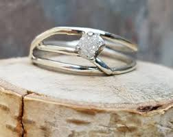 conflict free engagement rings diamond ring etsy
