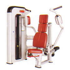 butterfly seated chest press at rs 120000 chest press