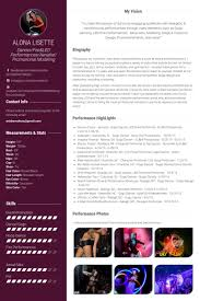 Theatre Resume Examples by Dancer Resume Samples Visualcv Resume Samples Database
