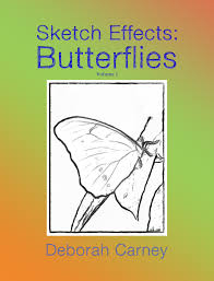 pdf download sketch effects butterflies coloring book for