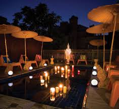 floating candles decoration ideas living room traditional with