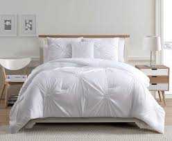 Comforter Store 4 Piece Paige White Comforter Set