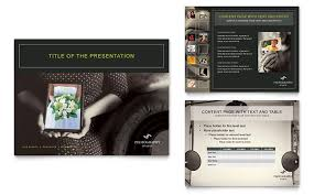 photography studio brochure template design