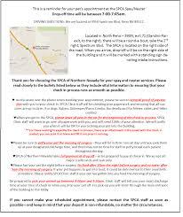 spay u0026 neuter program snyps the spca of northern nevada