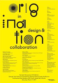 design event symposium event ventulett symposium origination in design collaboration