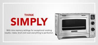 Kitchen Aid Toaster Ovens Countertop Ovens Kitchenaid