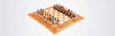 miniature animal themed chess set kumbula shop