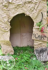 Decorate Cardboard Box Cave Art For Kids Adventure In A Box