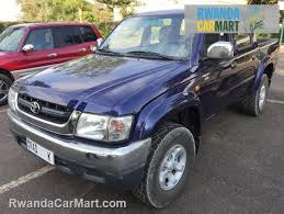 toyota truck hilux used toyota truck 2004 2004 toyota hilux d4d rwanda carmart